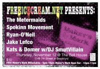 Bell House Flyer