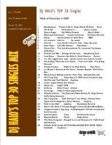 top 30 single 11.04