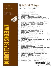 top 30 single 11.11